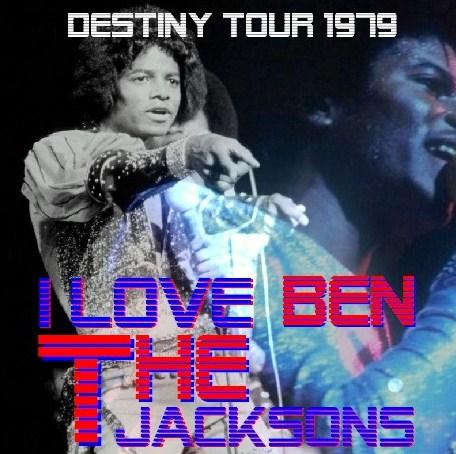 コレクターズCD THE JACKSONS(ジャクソンズw/マイケルジャクソン 79年  Destiny Tour)