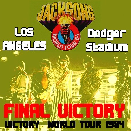 コレクターズCD THE JACKSONS(ジャクソンズw/マイケルジャクソン 84年 VICTORY TOUR)