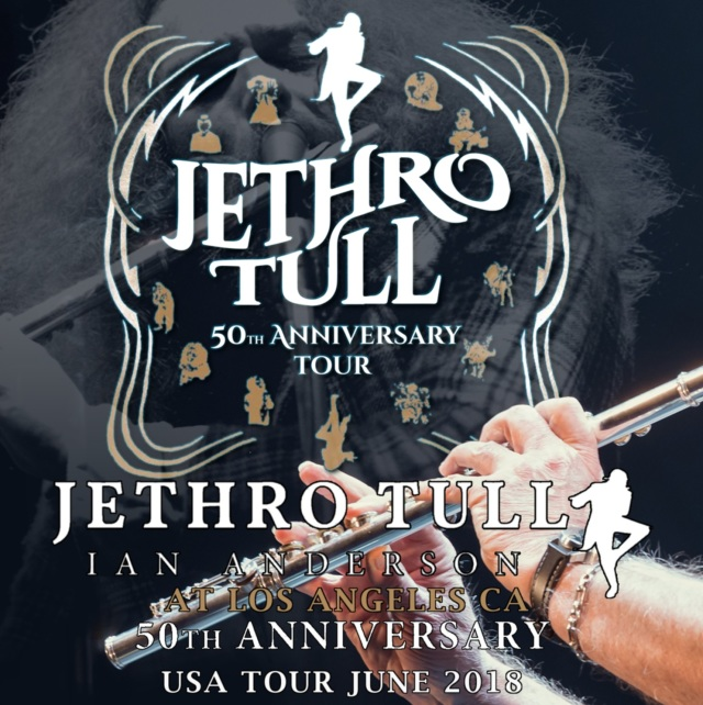 コレクターズCD JETHRO TULL - 50th Anniversary Tour 2018