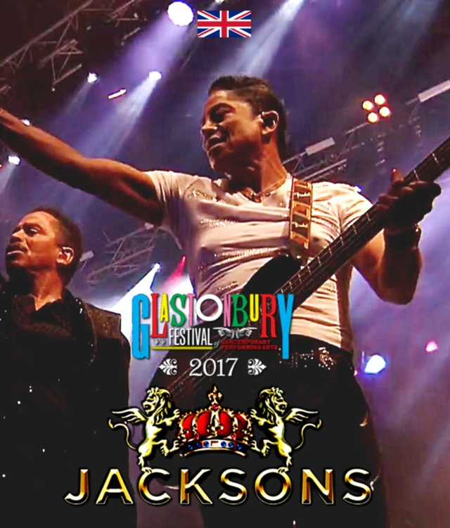 コレクターズBlu-ray  The Jacksons - Glastonbury Festival 2017 in England