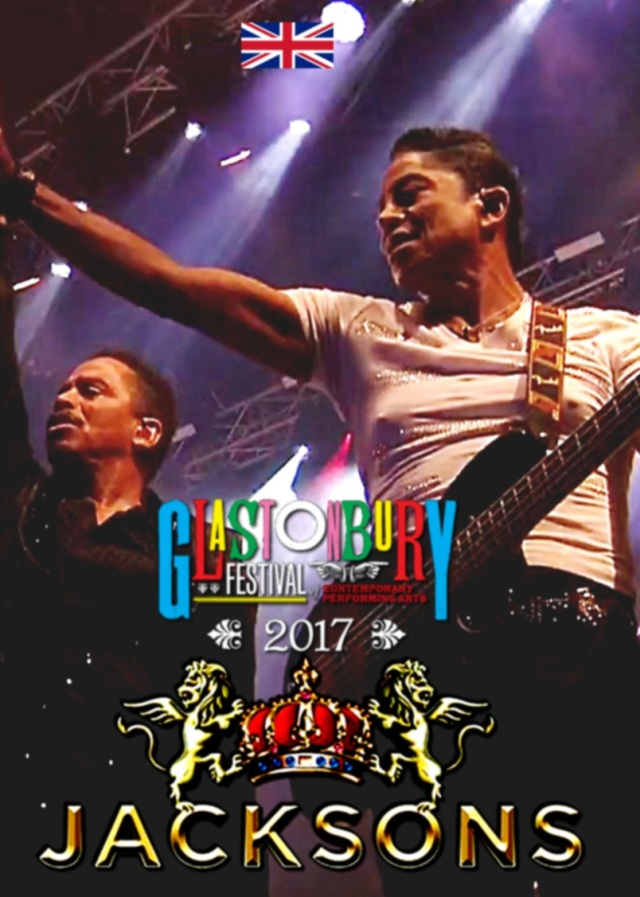 コレクターズDVD  The Jacksons - Glastonbury Festival 2017 in England