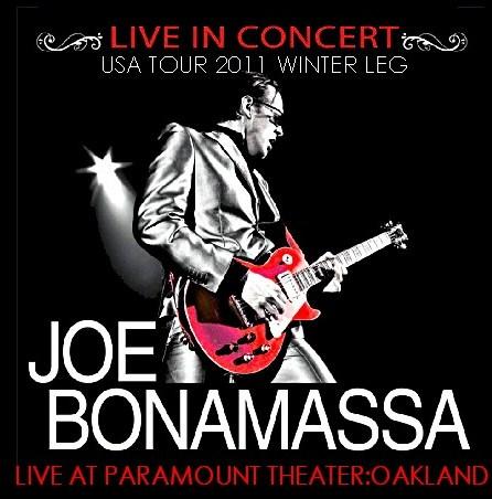 コレクターズCD ジョー・ボナマッサ(Joe Bonamassa) 2011年アメリカソロツアー