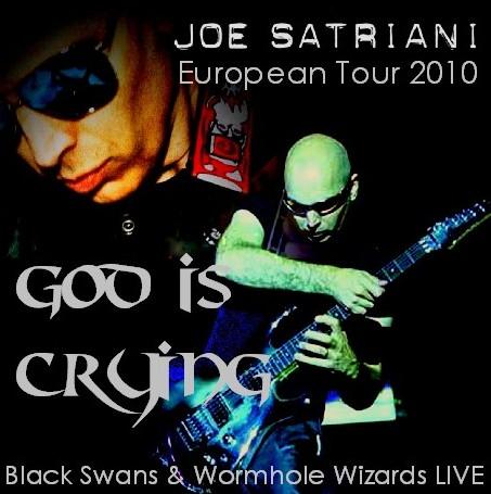 コレクターズCD ジョー・サトリアーニ(Joe Satriani)ヨーロッパツアー 2010