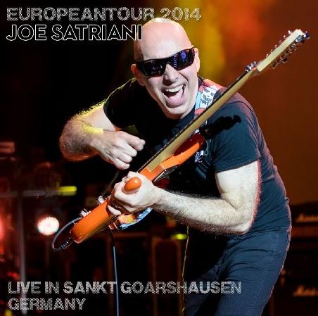 コレクターズCD ジョー・サトリアーニ(Joe Satriani)2014年ヨーロッパツアー)