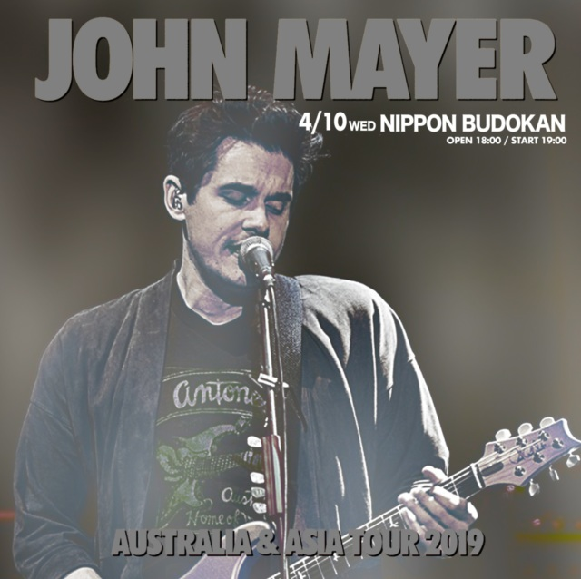 コレクターズCD John Mayer - Japan Tour 2019