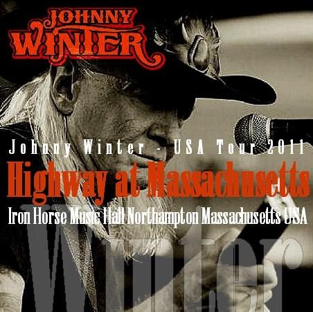 コレクターズCD ジョニー・ウィンター(Johnny Winter)2011年アメリカツアー Massachusetts