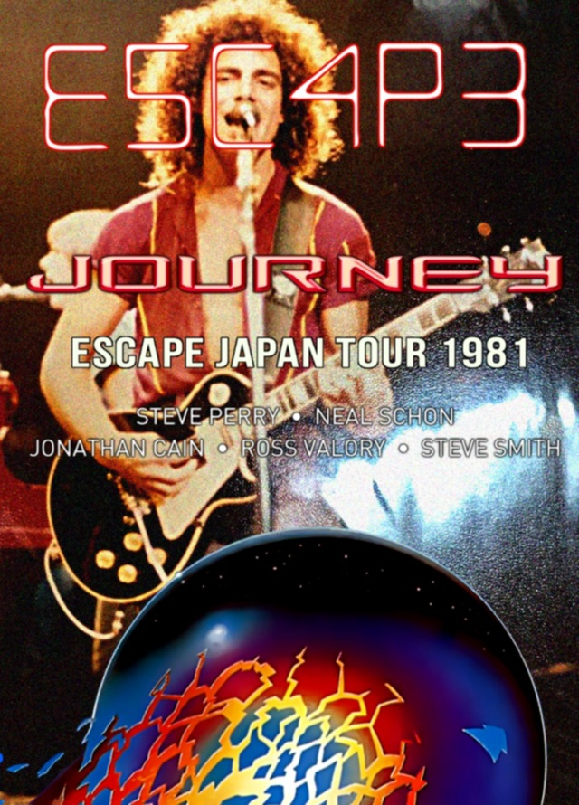 コレクターズDVD Journey - Escape Japan Tour 1981