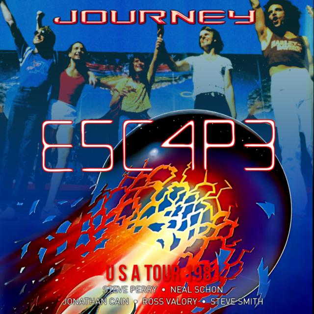 コレクターズCD ジャーニー1981年Escape Tour