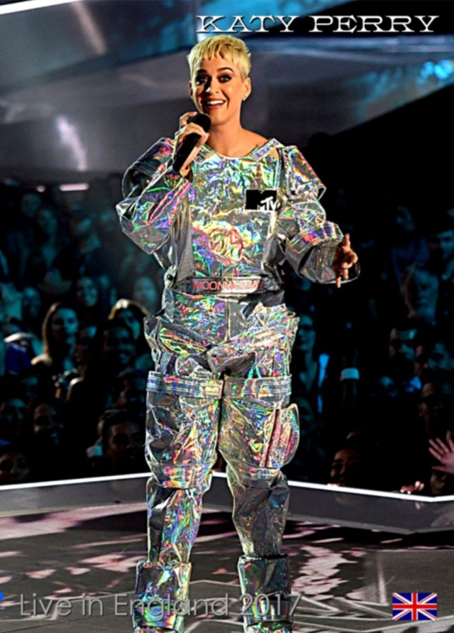 コレクターズDVD  Katy Perry - Live in England 2017