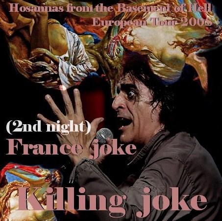 コレクターズCD Killing Joke(キリング・ジョーク)2008年ヨーロッパツアー