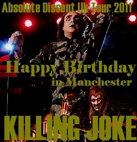 コレクターズCD Killing Joke(キリング・ジョーク)2011年ヨーロッパツアー
