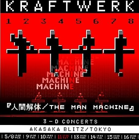 コレクターズCD クラフトワーク( Kraftwerk) 2013年来日公演