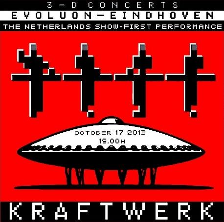 コレクターズCD クラフトワーク 2013年ヨーロッパツアー 3-D CONCERTS
