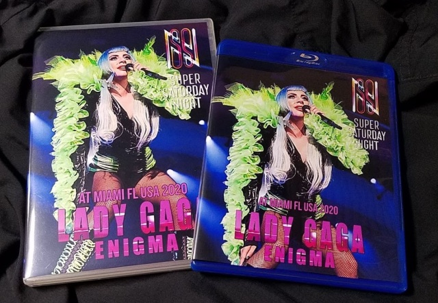 コレクターズBlu-ray Lady Gaga - ENIGMA Show live at Super Saturday Night 2020