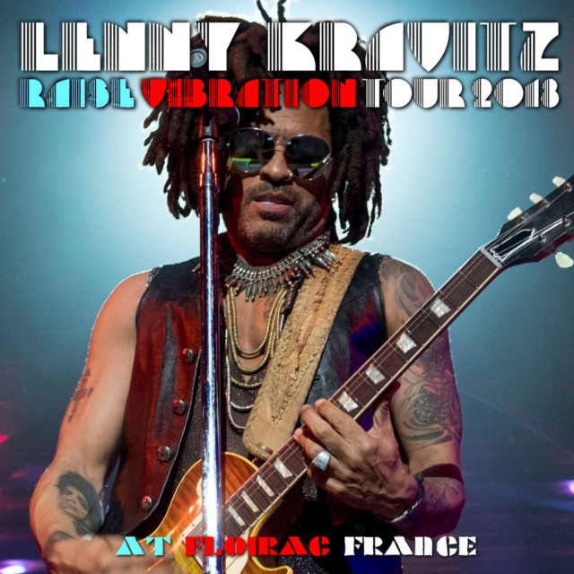 コレクターズCD Lenny Kravitz - Raise Vibration Tour 2018