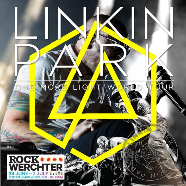 コレクターズCD リンキン・パーク(Linkin Park)2017年ヨーロッパツアー