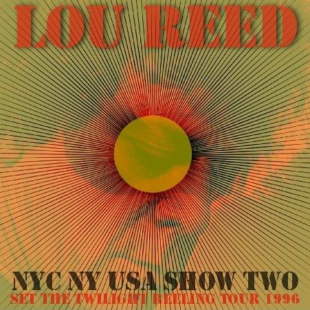 コレクターズCD ルー・リード(Lou Reed)1996年アメリカツアー