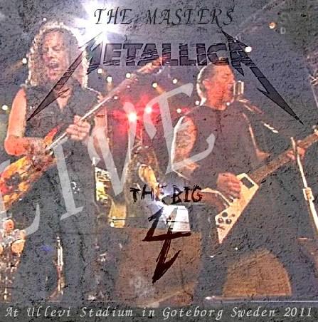 コレクターズCD METALLICA (メタリカ 2011年ヨーロッパツアー)The Big 4 concert in Sweden