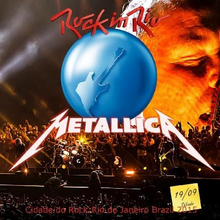 コレクターズCD メタリカ 2015年南米公演 ロックインリオ
