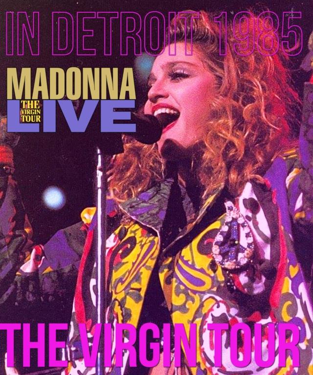 コレクターズBlu-ray  Madonna - The Virgin Tour 1985