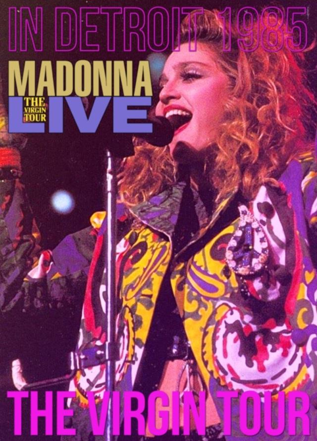 コレクターズDVD Madonna - The Virgin Tour 1985