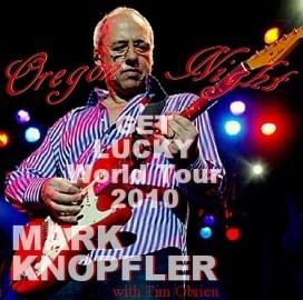 コレクターズCD Mark Knopfler(マークノップラー 2010年アメリカツアー Oregon)