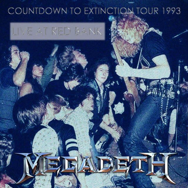 コレクターズCD Megadeth - Countdown to Extinction Tour 1993