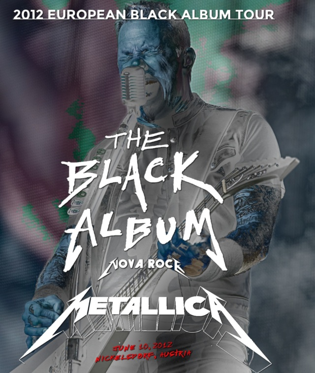 コレクターズBlu-ray  - Metallica - 2012 European Black Album Tour