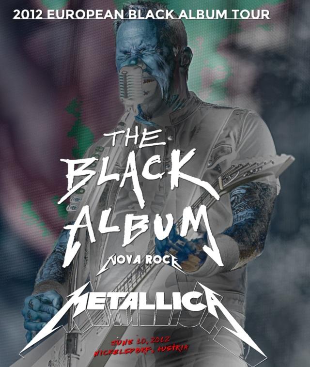 コレクターズBlu-ray  - Metallica - 2012 European Black Album Tour