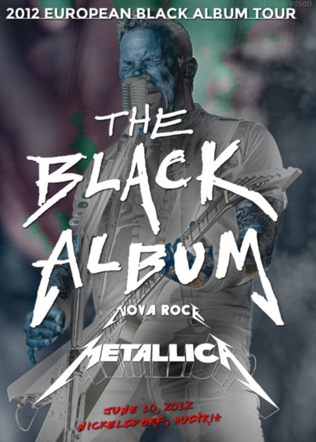 コレクターズDVD - Metallica - 2012 European Black Album Tour