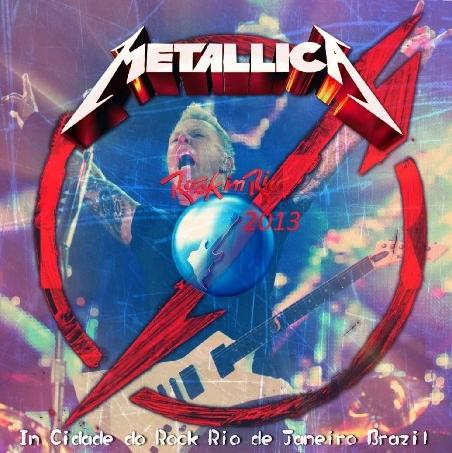コレクターズCD メタリカ2013年南米ツアー Rock In Rio
