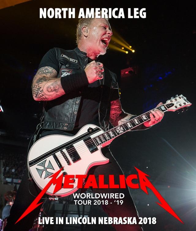 コレクターズBlu-ray  Metallica - Worldwired Tour 2018
