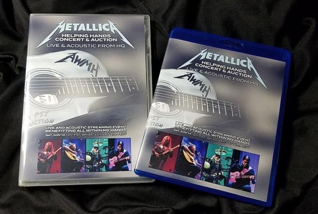 コレクターズBlu-ray  Metallica at All Within My Hands Benefit Concert 2020