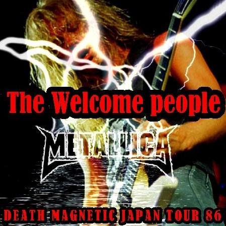 コレクターズCD メタリカ(Metallica 86年日本公演 初日)DEATH MAGNETIC JAPAN TOUR 86