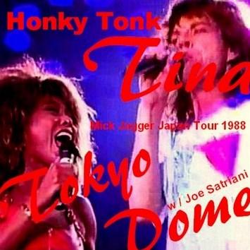 コレクターズCD Mick Jagger(ミックジャガーw/ティナターナー 88年日本公演 東京ドーム)