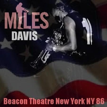 コレクターズCD Miles Davis(マイルス・デイヴィス86年 アメリカツアー Beacon Theatre)New York