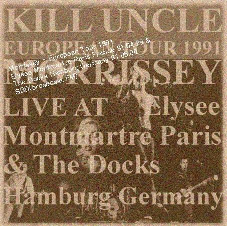 コレクターズCD モリッシー(Morrissey) 1991年ヨーロッパツアー