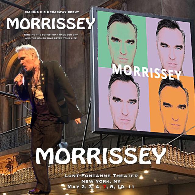 コレクターズCD Morrissey - Morrissey on Broadway 2019