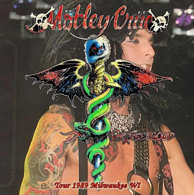 コレクターズCD Motley Crue - Dr. Feelgood Tour 1989