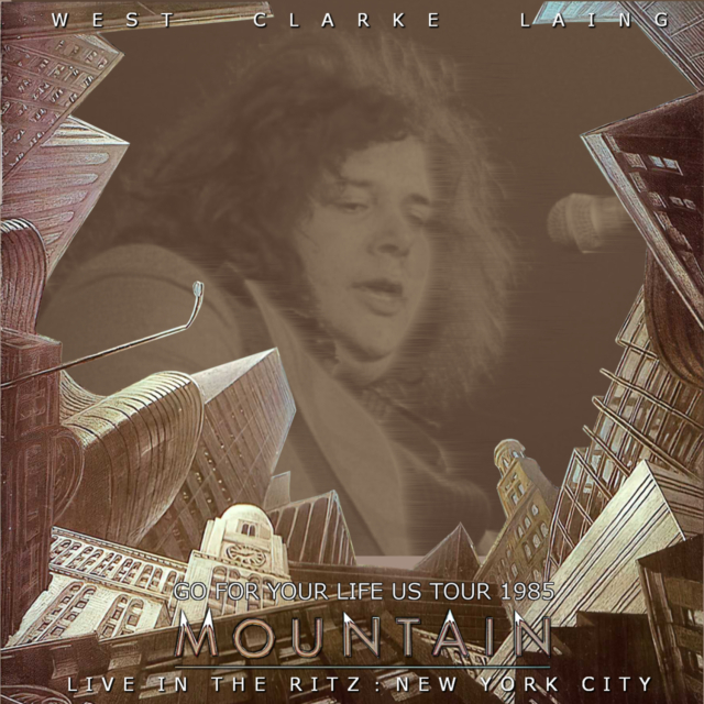 コレクターズCD Mountain - US Tour 1985