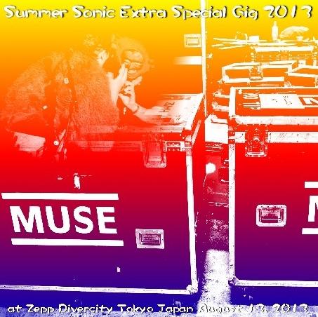 コレクターズCD ミューズ(Muse)2013年Summer Sonic Extra Special Gig