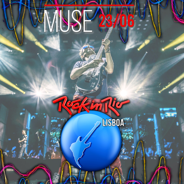 コレクターズCD Muse - Rock in Rio Lisboa