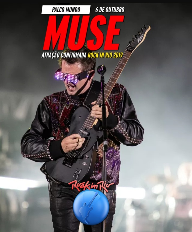 コレクターズBlu-ray Muse Rock in Rio 2019