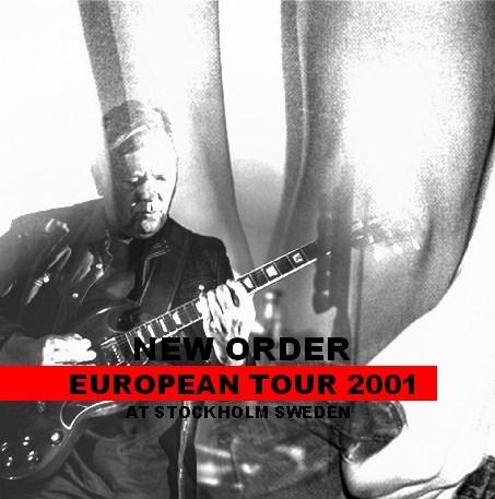 コレクターズCD ニュー・オーダー (New Order) 2001年ヨーロッパツアー