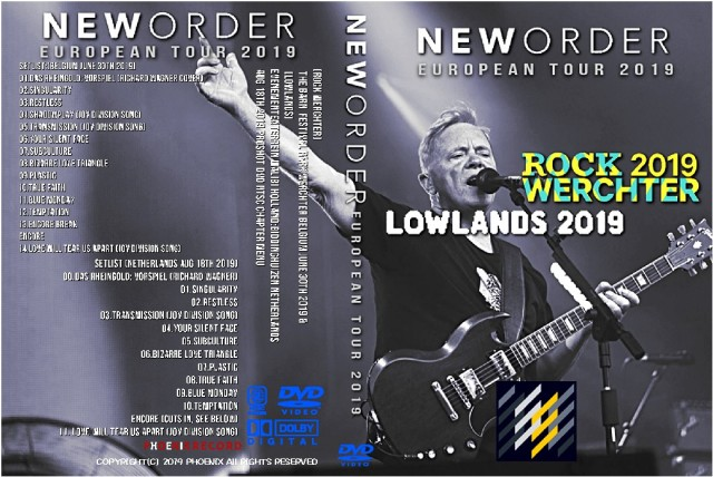 コレクターズDVD New Order - European Tour 2019