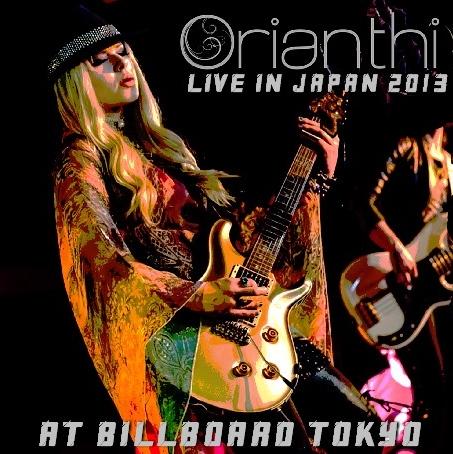 コレクターズCD オリアンティ(Orianthi)2013年日本公演