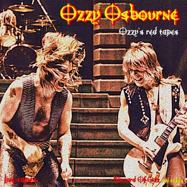 コレクターズCD Ozzy Osbourne - red tapes Vol One