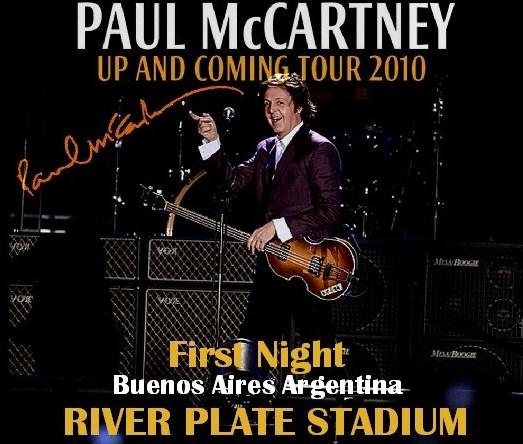 コレクターズCD ポール・マッカートニー(Paul McCartney)2010年南米ツアー アルゼンチン初日