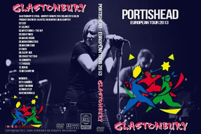 コレクターズCD ポーティスヘッド(Portishead)2013年ヨーロッパツアー6月28日Glastonbury Festival