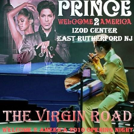 コレクターズCD プリンス(Prince  2010年アメリカツアー 初日) Welcome2America 2001.12.15 Izod Center
